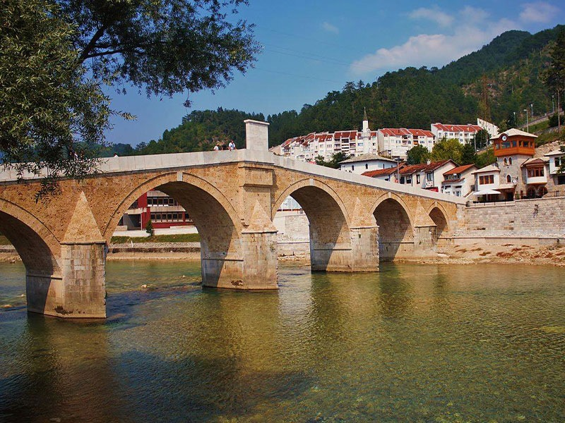 Konjic city is a natural and beautiful city.